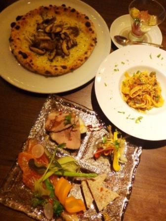イタリア料理で忘年会